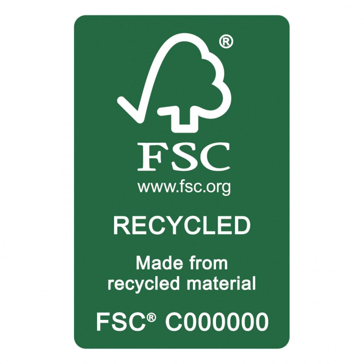 Dấu chứng nhận FSC recycle